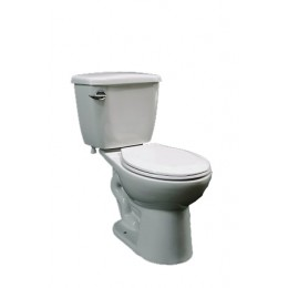 Amerisink AS406 High Efficiency Round Front Toilet White