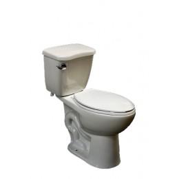 Amerisink AS407 High Efficiency Single Flush Elongated Toilet White