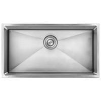 AmeriSink AS3326 Legend Single Bowl Undermount Stainless Steel Kitchen Sink