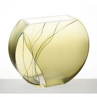 Badash Crystal Evergreen 9 inch European Design Vase