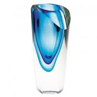 Badash Crystal Azure Vase 7