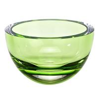 Badash Crystal K2008 Spring Green 6 inch Penelope Bowl