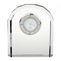 Badash Crystal Diamonds Crystal Clock