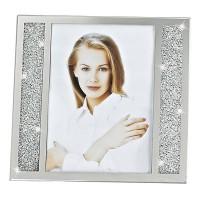 Badash Crystal SU384 Lucern Crystallized Picture Frame 5 x 7 inch