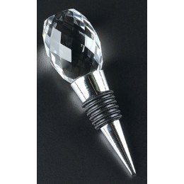 Badash Crystal Faceted Crystal Wine Stopper