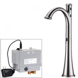 Cinaton Bathroom Faucet for above-counter Sink Chrome