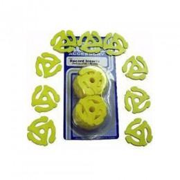 Crosley 45 RPM Plastic Inserts (Pack of 12)