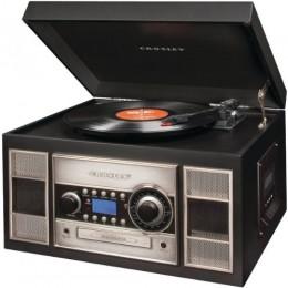 Crosley CR2413A-BK Memory Master II CD Recorder/USB Black