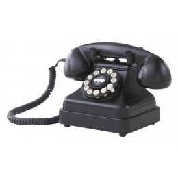 Crosley CR62-BK Kettle Classic Desk Phone Black