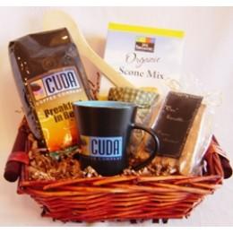 Cuda Coffee Morning Gift Basket