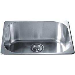 Dawn 3233 Stainless Steel Top Mount Bar Sink