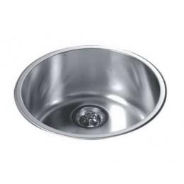 Dawn 3235 Stainless Steel Top Mount Round Bar Sink
