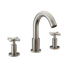 Dawn AB03 1513BN 3-Hole Widespread Lavatory Faucet with Cross Handles