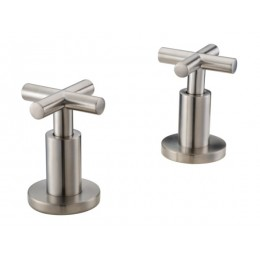 Dawn D220013901BN Cross Handles for Widespread Lavatory Faucet