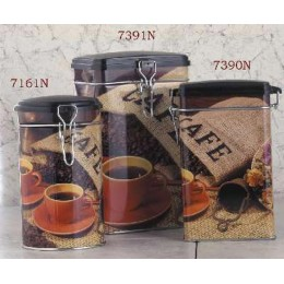 European Gift 7161N Round Storage Canister