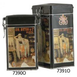 European Gift 7390O Medium Rectangular Coffee Canister