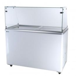 Excellence EDC-8HC Ice Cream Freezer Dipping Cabinet 8 Tub Capacity