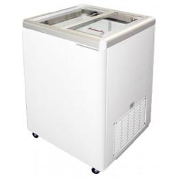 Excellence Euro-5 Flat Lid Merchandising Freezer 5 cu ft