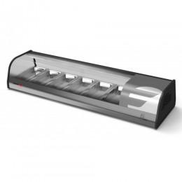 Fagor VTP-139-SL Sushi Case Display Refrigerator 55 Inch