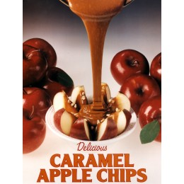 Gold Medal Caramel Apple Chip Poster