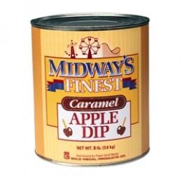 Gold Medal 4224 Midways Finest Caramel Apple Dip 6-#10 Cans/CS