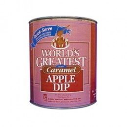 Gold Medal 4225 Worlds Greatest Soft Caramel Apple Dip 6-#10 Cans/CS