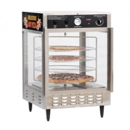 Gold Medal 5550-00-5553-000 Pizza Humidified Merchandiser Large