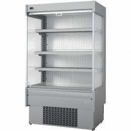 Infrico EML 9 INOX M2 Air Curtain Refrigerator, 23.7 cu ft, 4 Shelves