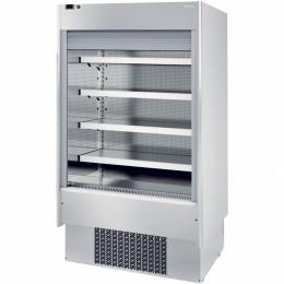 Infrico EML 9 INOX PM2 Air Curtain Refrigerator, 23.7 cu ft, 4 Shelves