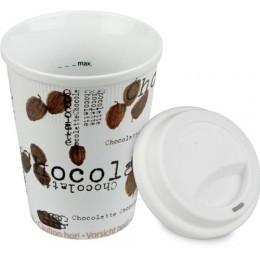 Konitz Chocolatte Travel Mug w/ Lid Set of Two