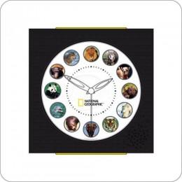 Koolatron NGAC National Geographic Animal Sounds Clock