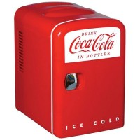 Koolatron Coca Cola Personal Compact Beverage Cooler