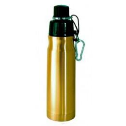 Stainless Steel Water Bottle 16 oz Bronze