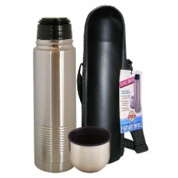 Stainless Steel Thermal Bottle w/Carry Case Stainless