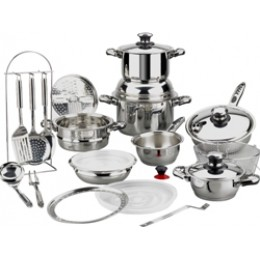 Magefesa Vital Therm Stainless Steel 24 Piece Cookware Set