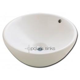 Polaris P0022 Round Porcelain Vessel Sink