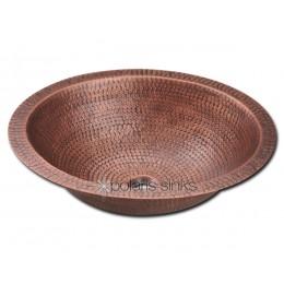 Polaris Single Bowl Oval Copper Sink