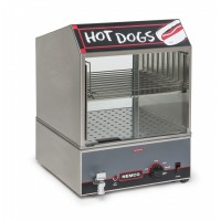 Nemco 8300-230 Hot Dog Steamer,CE 150 Hot Dog Capacity 230V