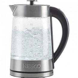 Nesco GWK-02 Glass Electric Water Kettle 57 oz