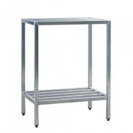 New Age 1026 All Welded HD Shelving Two Shelf 24inD x 48inH x 48