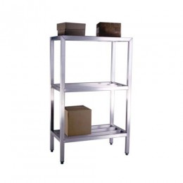 New Age 1041 All Welded HD Shelving Three Shelf 20inD x 60inH x 36inL