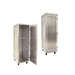 New Age 97718 Enclosed Pan Rack, 20 Pan Capacity, Reinforced Door