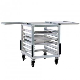 New Age 98000 Slicer-Mixer Stand, Outrigger Channels, 1.5in Spacing