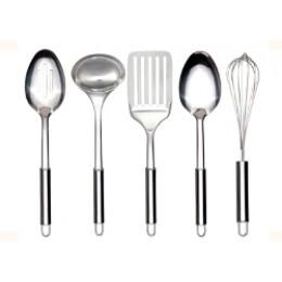 Neway International 5-Piece Stainless Kitchen Tool Set
