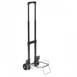 Picnic Time Folding Cart on Wheels w/ Extendable Handle