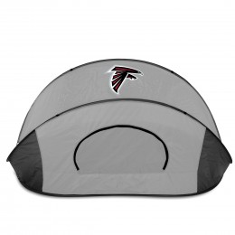 Atlanta Falcons Manta Sun Shelter - Black/Gray