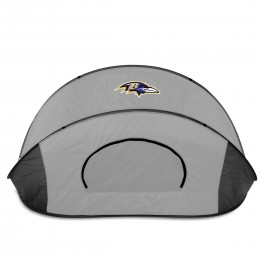 Baltimore Ravens Manta Sun Shelter - Black/Gray