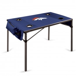 Denver Broncos Travel Table