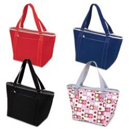 Topanga Large Insulated Shoulder Tote Water Resistant Liner
