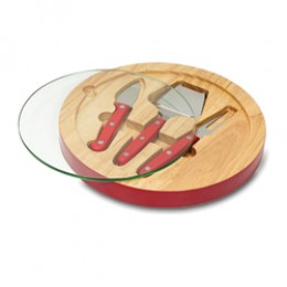 Picnic Time Ventana Glass Top Cutting Board